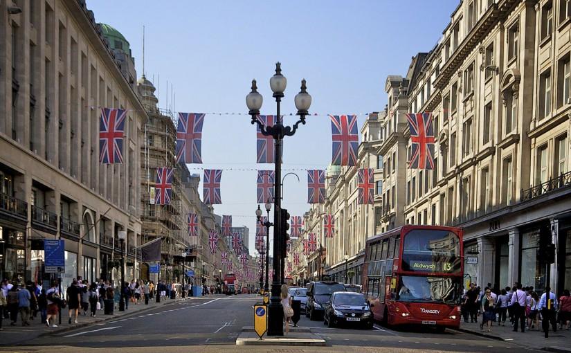 Patriotic Regent Street London
