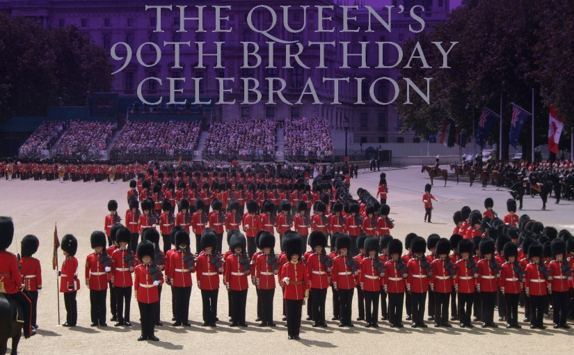 The Queen's 90th Birthday Celebration - Washington Mayfair Banner