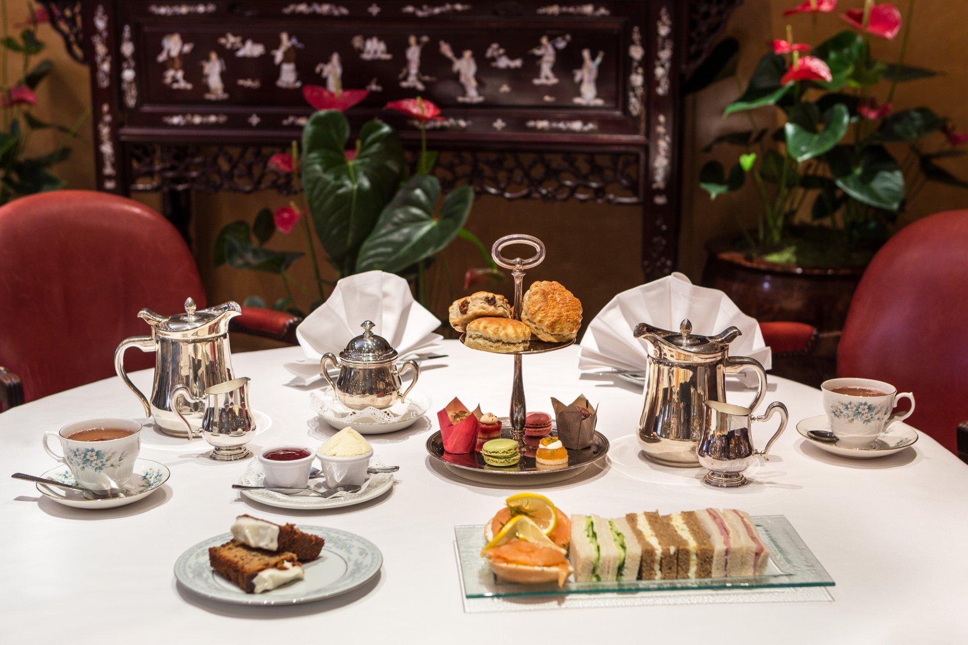 Mayfair Afternoon Tea London English Cream Teas